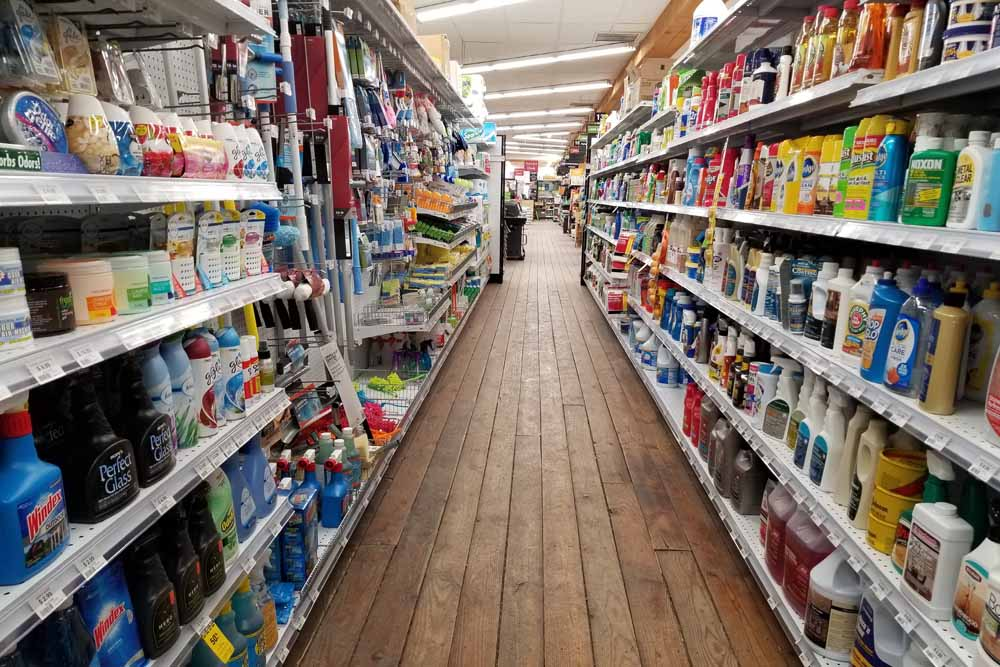 retail cleaning supplies