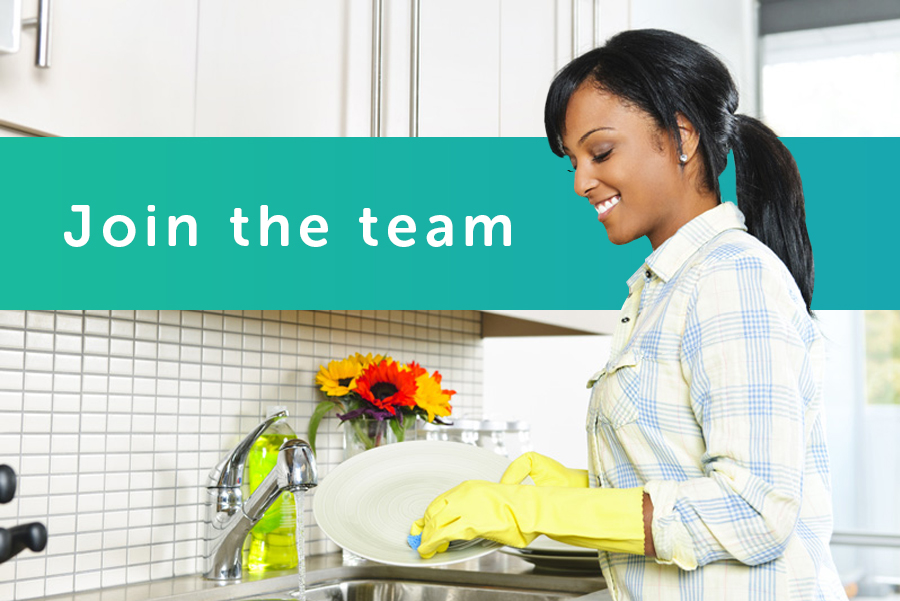 hiring cleaners